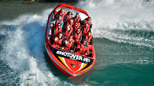 Shotover Jet Adventure - New Zealand